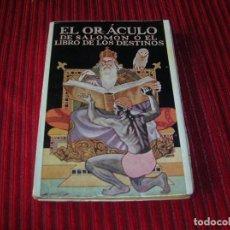 Libros de segunda mano: ANTIGUO LIBRO.EL ORÁCULO DE SALOMÓN O EL LIBRO DE LOS DESTINOS.POR S.A. RADETZKI. Lote 125306719