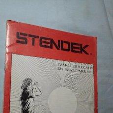 Libros de segunda mano: STENDEK N°39 JUNIO 1980 (CASI-ATERRIZAJE EN NAVALMORAL). Lote 125423031