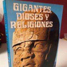 Libros de segunda mano: GIGANTES, DIOSES Y RELIGIONES. DE. FREDERICK L. BEYNON. 1ª EDICIÓN 1979 PRODUCCIONES EDITORIALES LIB. Lote 125967615
