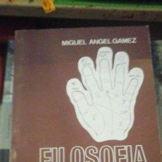 Libros de segunda mano: FILOSOFÍA Y ARTE DE LA MANO (MADRID, 1986). Lote 127451179