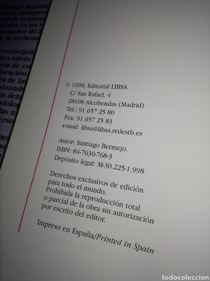 Libros de segunda mano: QUIROLOGIA, DE SANTIAGO BERMEJO FERNÁNDEZ - Foto 5 - 131136921