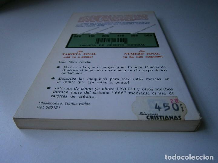 Libros de segunda mano: CUANDO EL DINERO FALLA EL SISTEMA 666 YA ESTA EN ACCION Mary Stewart Relfe 1987 - Foto 6 - 206595507