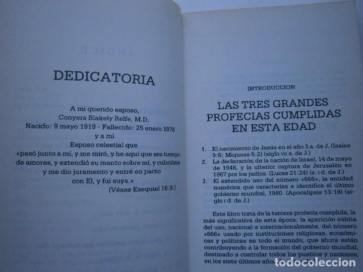 Libros de segunda mano: CUANDO EL DINERO FALLA EL SISTEMA 666 YA ESTA EN ACCION Mary Stewart Relfe 1987 - Foto 11 - 206595507