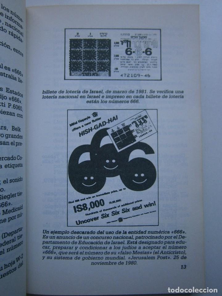 Libros de segunda mano: CUANDO EL DINERO FALLA EL SISTEMA 666 YA ESTA EN ACCION Mary Stewart Relfe 1987 - Foto 12 - 206595507