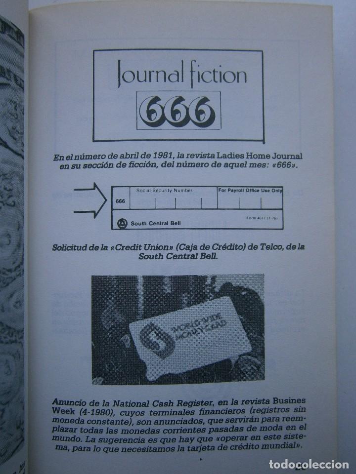 Libros de segunda mano: CUANDO EL DINERO FALLA EL SISTEMA 666 YA ESTA EN ACCION Mary Stewart Relfe 1987 - Foto 15 - 206595507