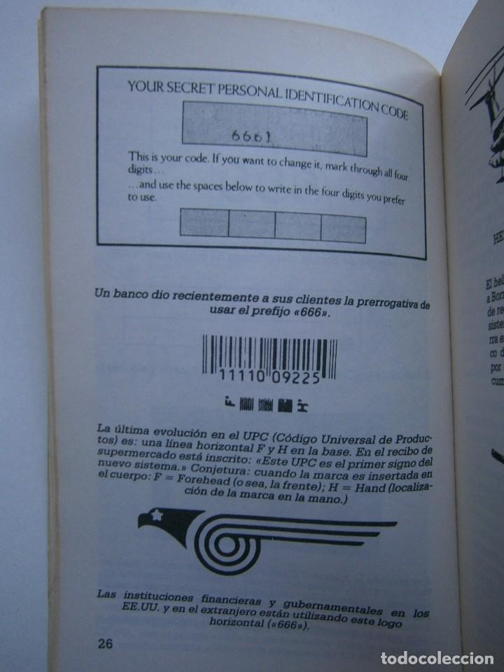 Libros de segunda mano: CUANDO EL DINERO FALLA EL SISTEMA 666 YA ESTA EN ACCION Mary Stewart Relfe 1987 - Foto 16 - 206595507