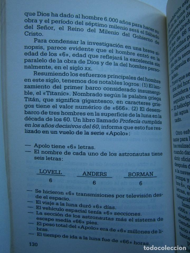 Libros de segunda mano: CUANDO EL DINERO FALLA EL SISTEMA 666 YA ESTA EN ACCION Mary Stewart Relfe 1987 - Foto 18 - 206595507