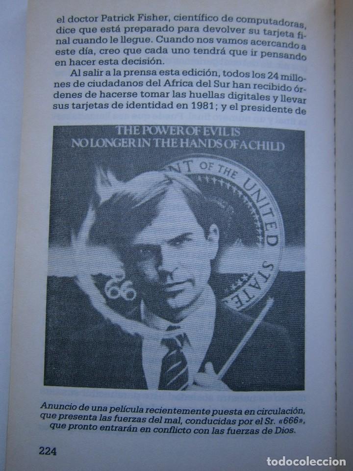 Libros de segunda mano: CUANDO EL DINERO FALLA EL SISTEMA 666 YA ESTA EN ACCION Mary Stewart Relfe 1987 - Foto 20 - 206595507