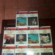 Libros de segunda mano: LOTE 10 LIBROS DE ESPACIO Y TIEMPO DEL DOCTOR JIMÉNEZ DEL OSO,PARAPSICOLOGÍA,OVNIS. Lote 131792986