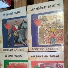 Libros de segunda mano: LOTE DE 4 NUMEROS DE LA COLECCION ANTARES, TEYKAL 1982. Lote 133425250