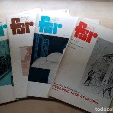 Libros de segunda mano: LOTE DE 4 REVISTAS DE LA MÍTICA REVISTA INGLESA FLYING SAUCER REVIEW - UFOLOGÍA - OVNIS - ALIENS. Lote 133984570