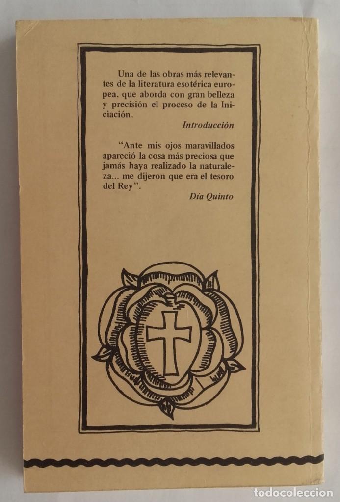Libros de segunda mano: Las dos Bodas Químicas de Christian Rosenkreutz. Biblioteca Esóterica. 1980. 180 páginas. - Foto 2 - 135319986