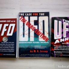 Libros de segunda mano - LOTE 3 LIBROS DE M. K. JESSUP. OVNIS. UFO. ENIGMAS - 137909578