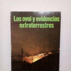Libros de segunda mano: LOS OVNI Y EVIDENCIAS EXTRATERRESTRES LUIS ANDRES JASPERSEN UFOLOGIA MUY RARO. Lote 140453450