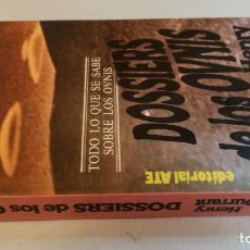 Libros de segunda mano: DOSSIERS DE LOS OVNIS-HENRY DURRANTTODO LO QUE SE SABE SOBRE LOS OVNIS. Lote 140628486