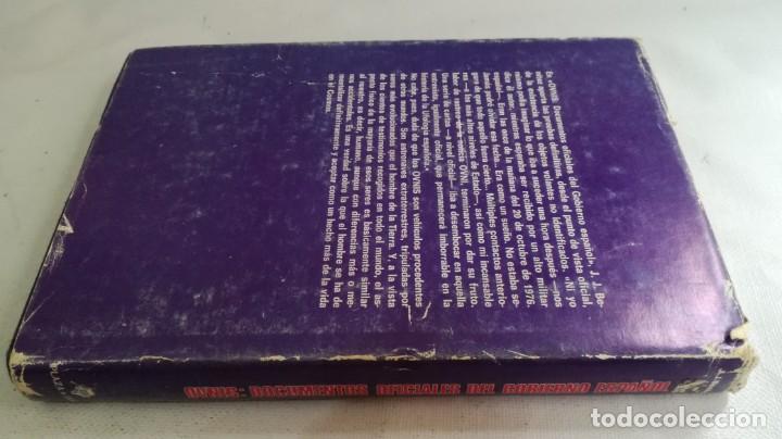 Libros de segunda mano: OVNIS-JJ BENITEZDOCUMENTOS OFICIALES DEL GOBIERNO ESPAÑOL - Foto 2 - 140629982