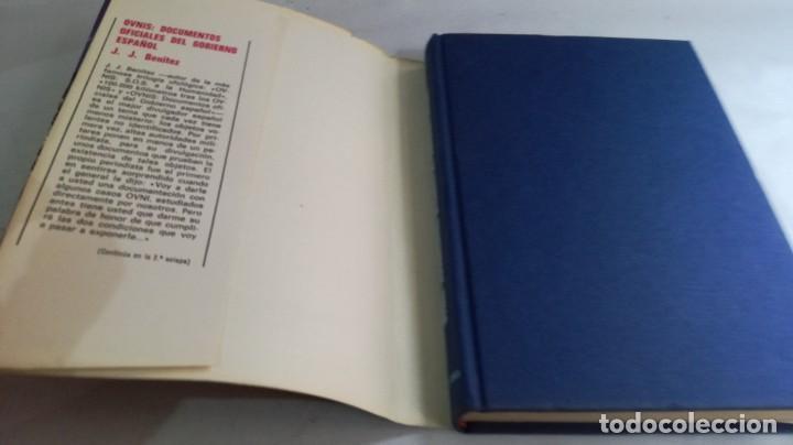 Libros de segunda mano: OVNIS-JJ BENITEZDOCUMENTOS OFICIALES DEL GOBIERNO ESPAÑOL - Foto 5 - 140629982