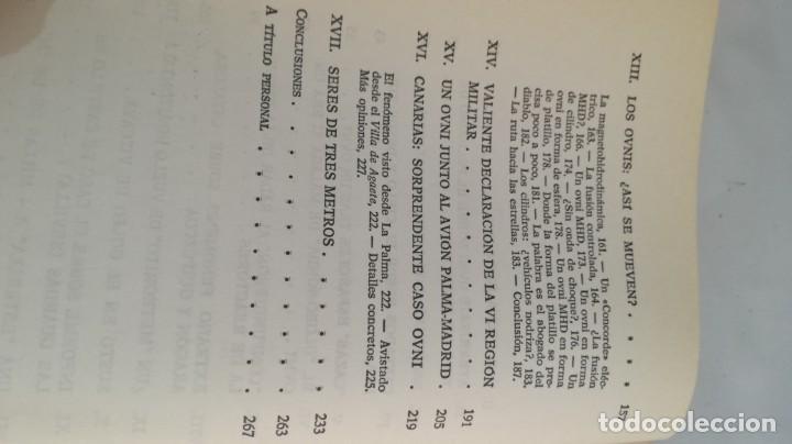 Libros de segunda mano: OVNIS-JJ BENITEZDOCUMENTOS OFICIALES DEL GOBIERNO ESPAÑOL - Foto 11 - 140629982
