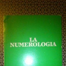 Libros de segunda mano: LA NUMEROLOGÍA. EL SECRETO DE LA NUMEROLOGÍA. QUINIELA - LOTO - LOTERIA. 1986. 64 PÁG.. Lote 140801214