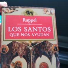 Libros de segunda mano: LOS SANTOS QUE NOS AYUDAN, RAFAEL PAYÁ RAPPEL. ESOTÉRICA TEMAS DE HOY. DEDICADO. 321 PÁGINAS. Lote 140849382