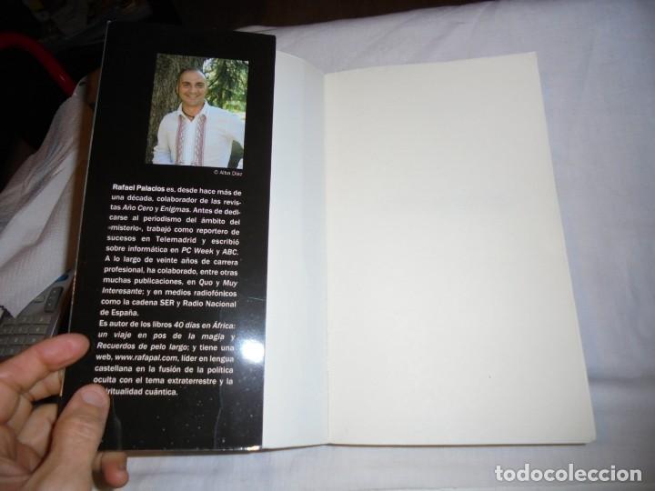Libros de segunda mano: EXTRATERRESTRES.EL SECRETO MEJOR GUARDADO.RAFAEL PALACIOS.PALMYRA 2ª EDICION 2009 - Foto 2 - 142203242