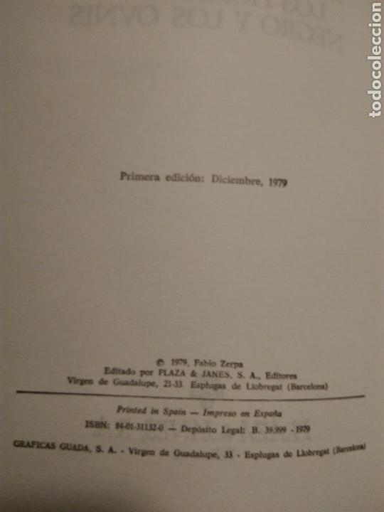 Libros de segunda mano: Los hombres de negro y los ovnis. (Fubio Zerpa) - Foto 4 - 142608501