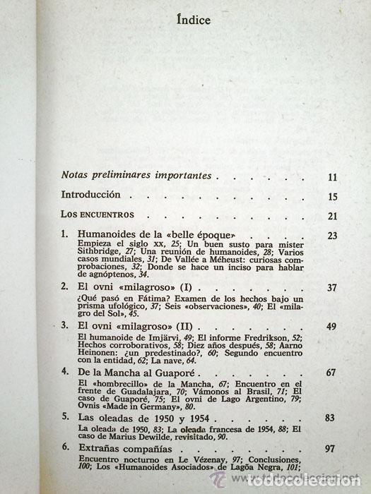 Libros de segunda mano: ENCUENTROS CON HUMANOIDES - ANTONIO RIBERA - ED. PLANETA - 1982 - 1ª EDICIÓN - Foto 4 - 45220206