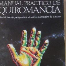 Libros de segunda mano - MANUAL PRACTICO DE QUIROMANCIA - NATHANIEL ALTMAN - EDAF EDICIONES - AÑO 1986 - 144702626