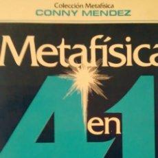 Libros de segunda mano: METAFISICA 4 EN 1 VOLUMEN II DE CONNY MENDEZ (BIENES LACONICA). Lote 145833874