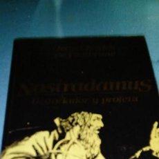 Libros de segunda mano: J. C. DE FONTBRUNE: NOSTRADAMUS, HISTORIADOR Y PROFETA. ED. BARCANOVA. Lote 145893722