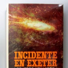 Libros de segunda mano: INCIDENTE EN EXETER. JOHN G. FULLER. PLAZA&JANES 1967. 311 PÁGS. TAPA DURA CON SOBRECUBIERTA. ILUSTR. Lote 146560378