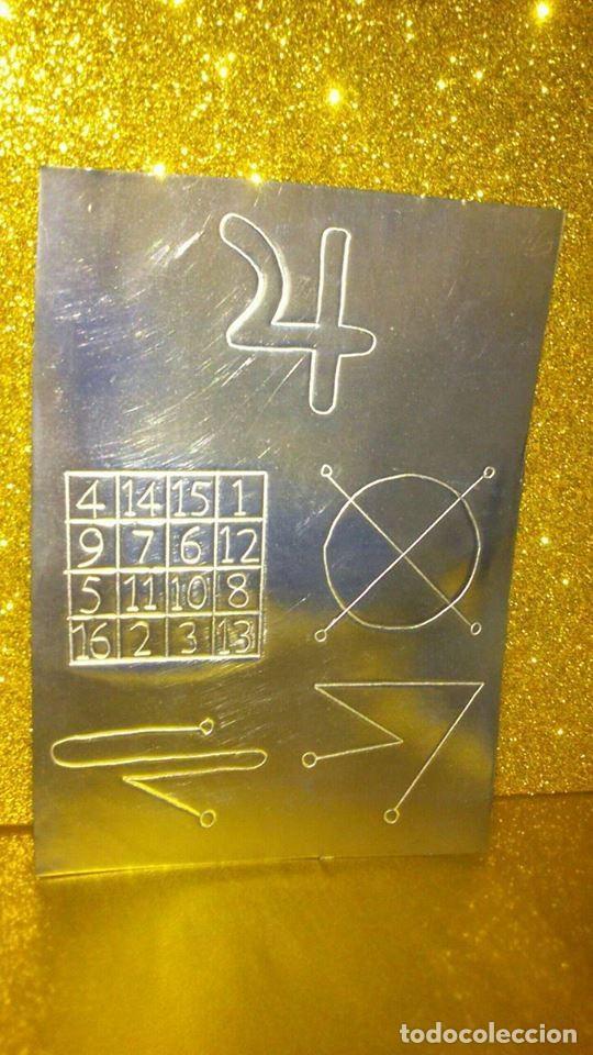 Libros de segunda mano: KAMEA - Magick Square , SIGILO PLANETARIO - GRABADOS EN ESTAÑO EL METAL DE JUPITER - Foto 2 - 146645150