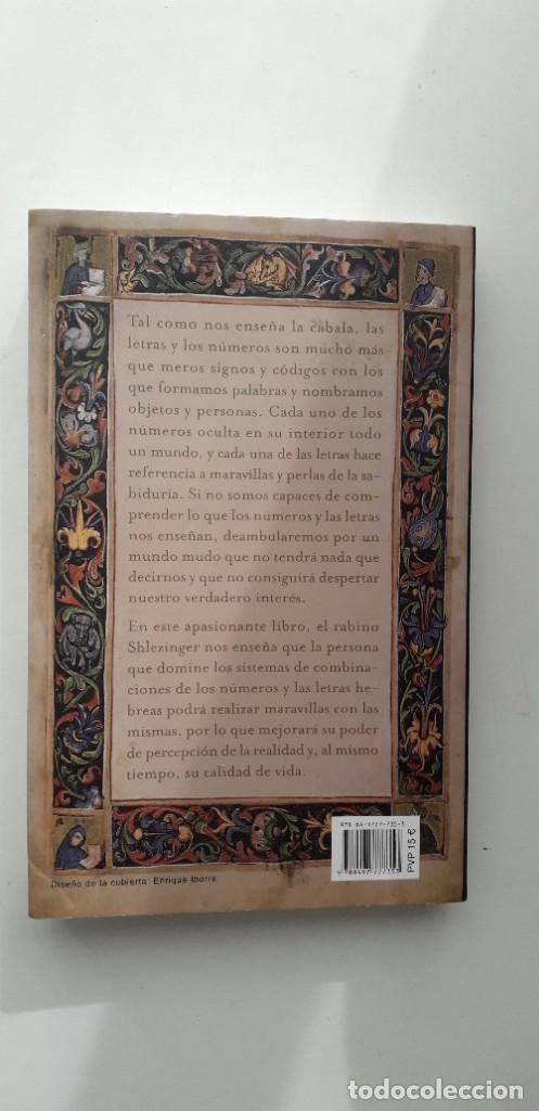 Libros de segunda mano: LAS CLAVES DE LA NUMEROLOGIA CABALISTICA - RABI AHARON SHLEZINGER - Foto 3 - 146742198