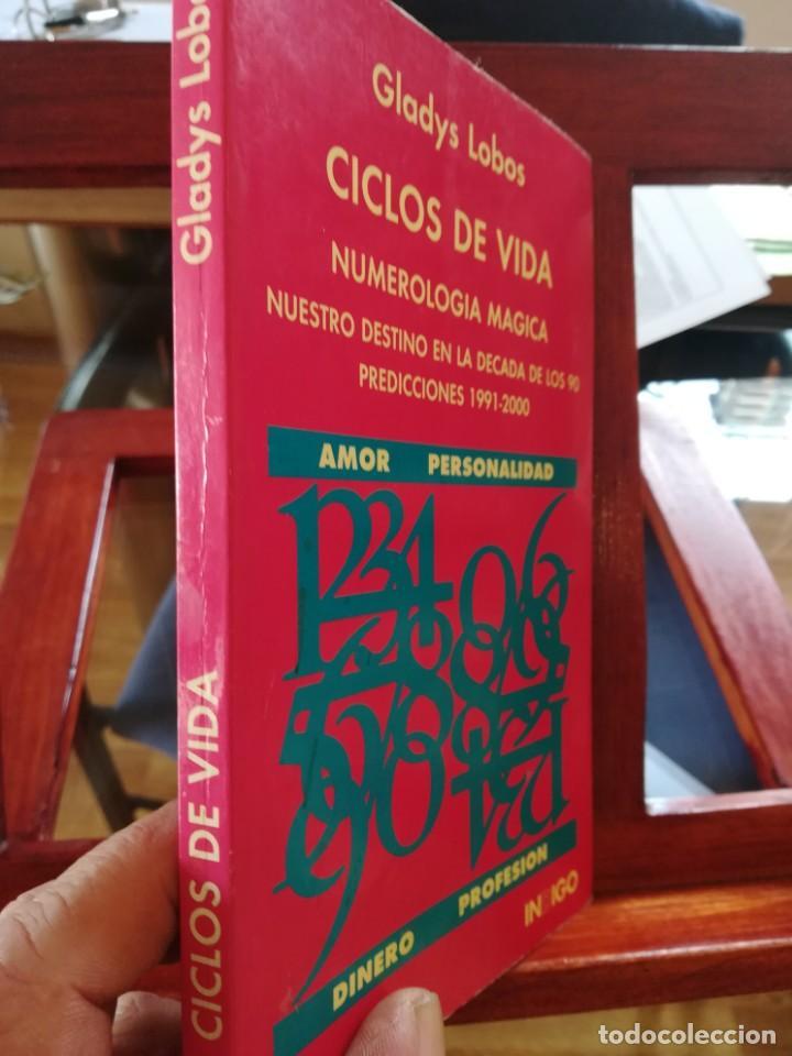 Libros de segunda mano: CICLOS DE VIDA-NUMEROLOGIA MAGICA-GLADYS LOBOS-EDICIONES INDIGO-1ª EDICION 1992-AGOTADO - Foto 2 - 146868302