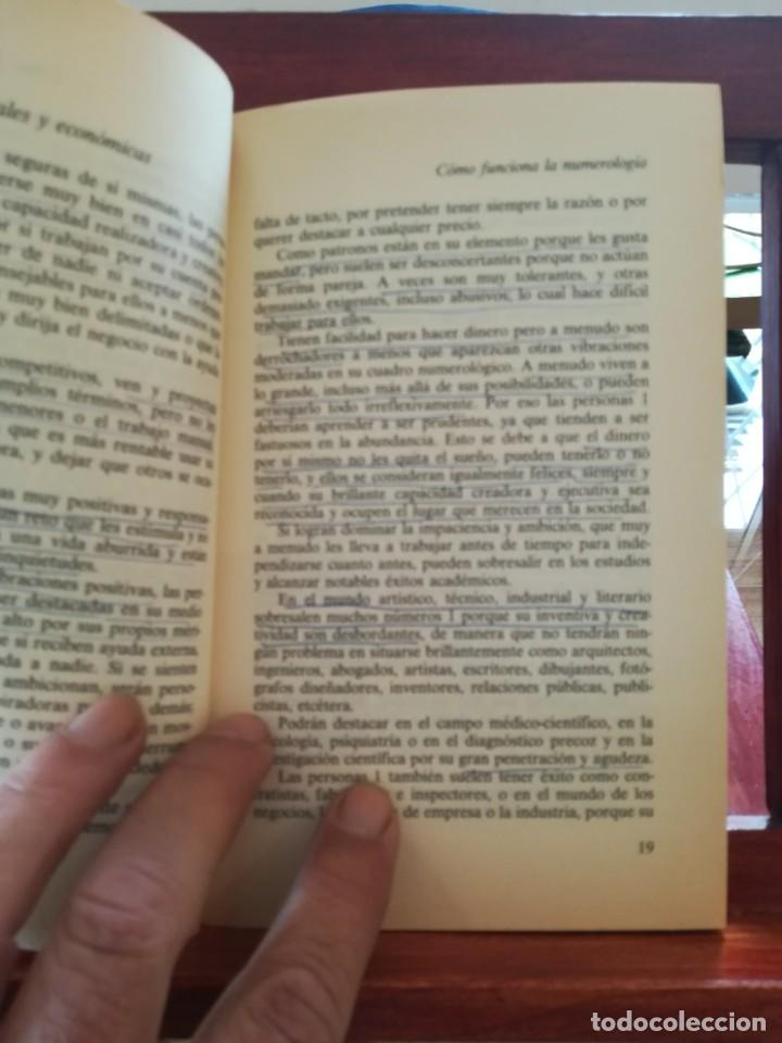 Libros de segunda mano: CICLOS DE VIDA-NUMEROLOGIA MAGICA-GLADYS LOBOS-EDICIONES INDIGO-1ª EDICION 1992-AGOTADO - Foto 5 - 146868302