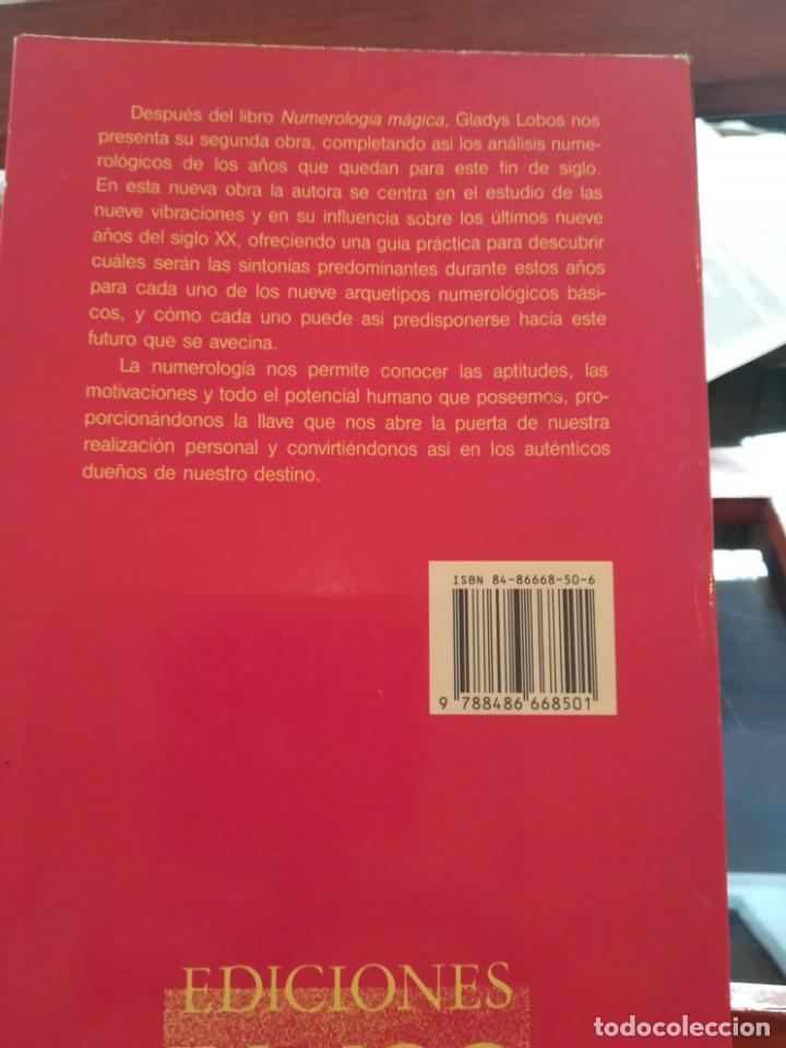 Libros de segunda mano: CICLOS DE VIDA-NUMEROLOGIA MAGICA-GLADYS LOBOS-EDICIONES INDIGO-1ª EDICION 1992-AGOTADO - Foto 7 - 146868302