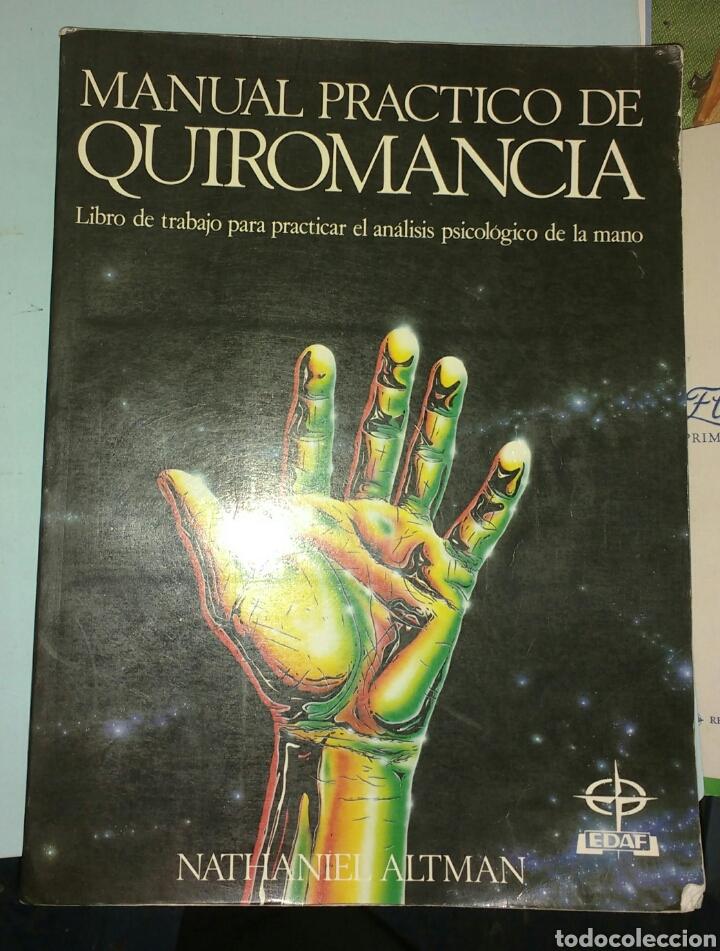 MANUAL PRÁCTICO DE QUIROMANCIA. NATHANIEL ALTMAN (Libros de Segunda Mano - Parapsicología y Esoterismo - Numerología y Quiromancia)