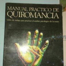 Libros de segunda mano - Manual práctico de quiromancia. Nathaniel Altman - 146915601