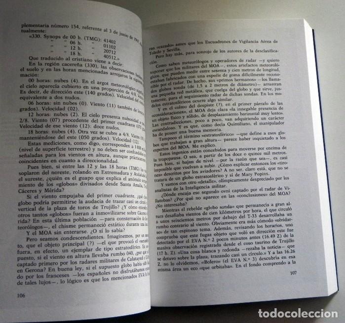 Libros de segunda mano: MATERIA RESERVADA LIBRO JJ BENÍTEZ UFOLOGÍA CASOS OVNIS MISTERIO JUAN JOSÉ DOCUMENTOS FRANCO ESPIADO - Foto 5 - 147101374