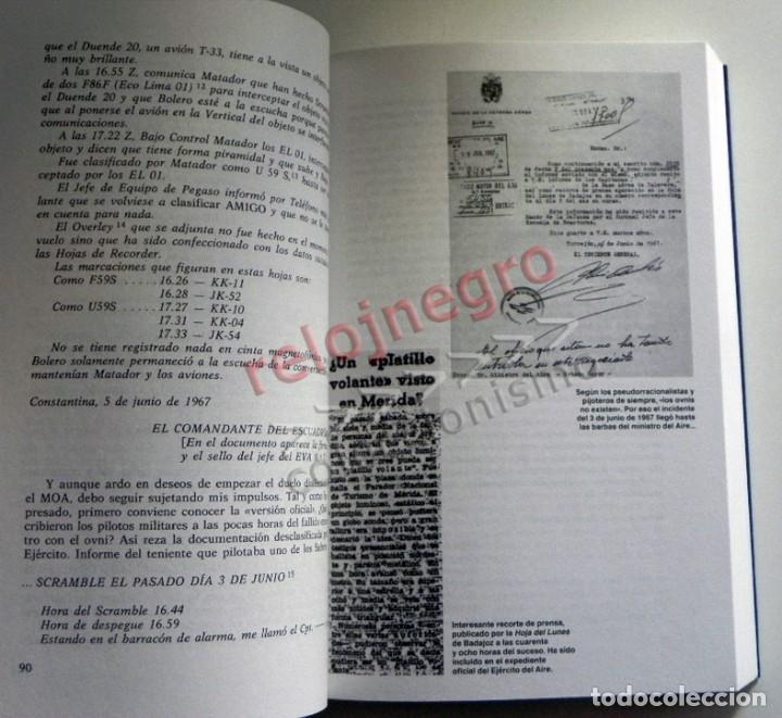 Libros de segunda mano: MATERIA RESERVADA LIBRO JJ BENÍTEZ UFOLOGÍA CASOS OVNIS MISTERIO JUAN JOSÉ DOCUMENTOS FRANCO ESPIADO - Foto 4 - 147101374