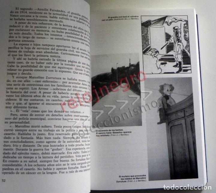 Libros de segunda mano: MATERIA RESERVADA LIBRO JJ BENÍTEZ UFOLOGÍA CASOS OVNIS MISTERIO JUAN JOSÉ DOCUMENTOS FRANCO ESPIADO - Foto 6 - 147101374