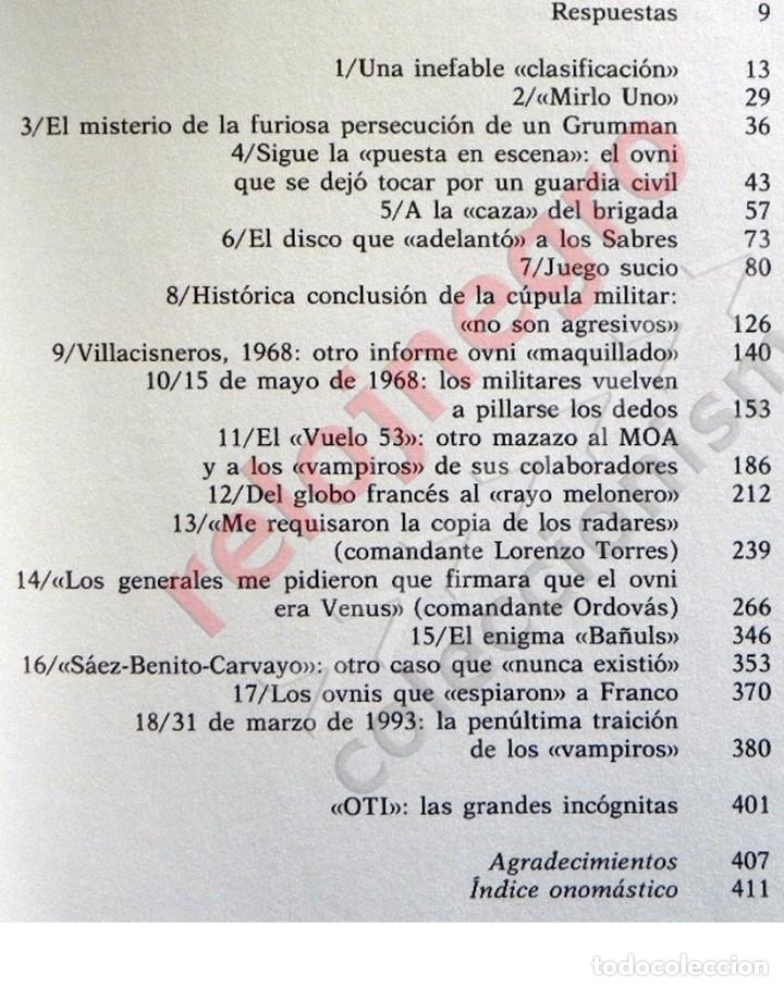 Libros de segunda mano: MATERIA RESERVADA LIBRO JJ BENÍTEZ UFOLOGÍA CASOS OVNIS MISTERIO JUAN JOSÉ DOCUMENTOS FRANCO ESPIADO - Foto 3 - 147101374