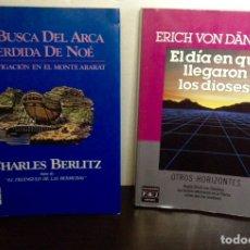Libros de segunda mano: EN BUSCA DEL ARCA PERDIDA DE NOÉ. EL DÍA EN QUE LLEGARON LOS DIOSES. PLAZA Y JANÉS.. Lote 147264908