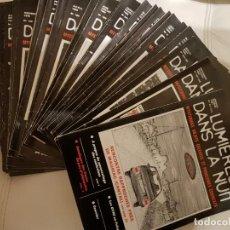 Libros de segunda mano: ÚNICO LOTE DE 26 REVISTAS DE LA MÍTICA REVISTA FRANCESA LUMIERES DANS LA NUIT- UFOLOGÍA-OVNIS. Lote 147551590