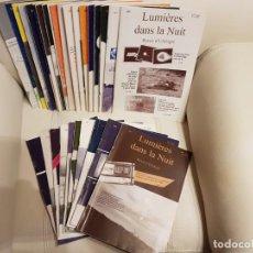 Libros de segunda mano: ÚNICO LOTE DE 30 REVISTAS DE LA MÍTICA REVISTA FRANCESA LUMIERES DANS LA NUIT- UFOLOGÍA-OVNIS. Lote 147551622