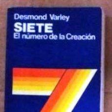 Libros de segunda mano: SIETE EL NUMERO DE LA CREACION. Lote 147577822