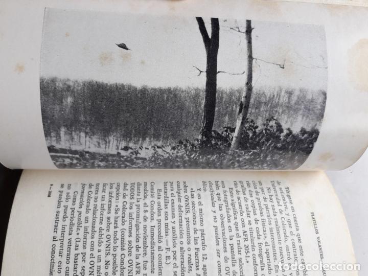 Libros de segunda mano: Platillos Volantes... Aquí y Ahora. Frank Edwards. - Foto 5 - 148291706