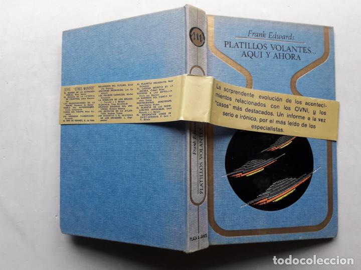 Libros de segunda mano: Platillos Volantes... Aquí y Ahora. Frank Edwards. - Foto 7 - 148291706