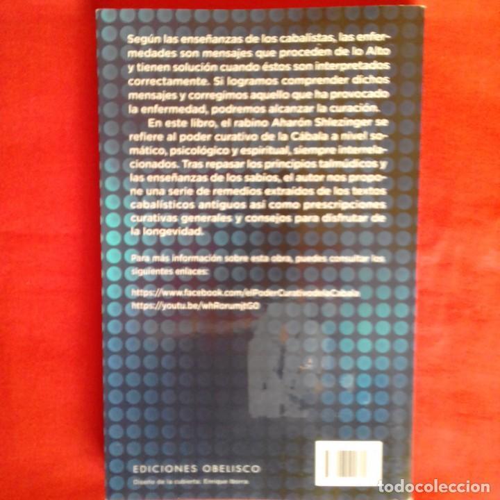Libros de segunda mano: EL PODER CURATIVO DE LA CÁBALA. AHARÓN SHLEZINGER. OBELISCO 2015 - Foto 2 - 148520726