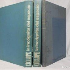 Libros de segunda mano: CÍCLOPE. LA INCÓGNITA DEL ESPACIO. 2 VOLS. + CÍCLOPE INFORMA 1966 - 1967. COMPLETA. UFOLOGÍA.. Lote 151400810